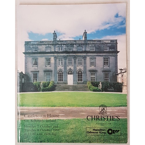 123 - Christies catalogue re sale of contents of Castletown House, Co. Kilkenny on the 7th & 8th Octob...