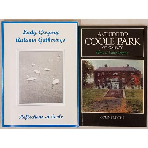 131 - Smythe, A Guide to Coole Park, cards, 1983. Lady Gregory Autumn Gatherings, Reflections at Coole, mi...