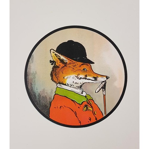132 - Sir F. Burnand. The Fox's Frolic. C. 1895. Oblong quarto. Illustrated in colour by Henry B. Ne...