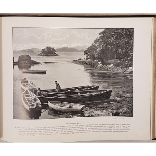 134 - Sights and Scenes in Ireland with nearly One Hundred Copyright Illustrations. Cassell. Circa 1890. L...