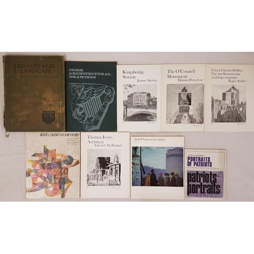 135 - Irish life & Landscape by Walker. Large format. Colour plates. Binding poor; Irish Architectural...