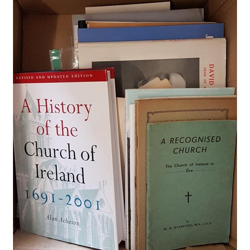 141 - Adam Acheson A History of the Church of Ireland along with c. 50 other pamphlets on the History of t...