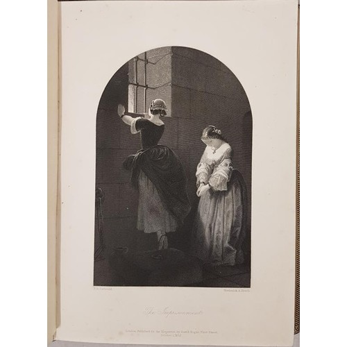 144 - Miss Power, Editor; The Keepsake, 1853 with beautifully finished engravings by Fredrick Heath, 1 vol...