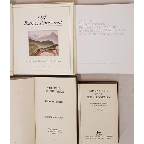 145 - Moirin Cheavasa, The Fall of the Year – Collected Poems, 1940, Gayfield Press 43 Morehampton R...