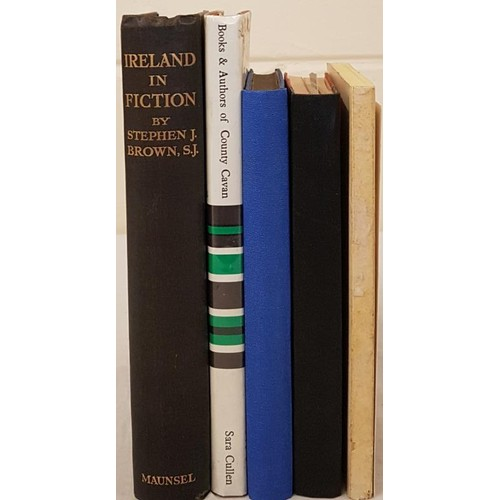 151 - The Irish Book. Ireland in Fiction. Guide to Irish Novels, Tales, Romances and Folk-Lore by Stephen ...
