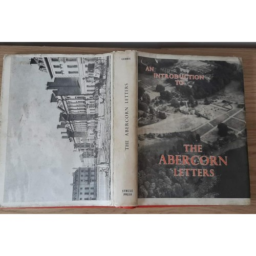 157 - An Introduction to the Abercorn Letters as Relating to Ireland 1736-1816 (John H. Gebbie ed, 1972). ...
