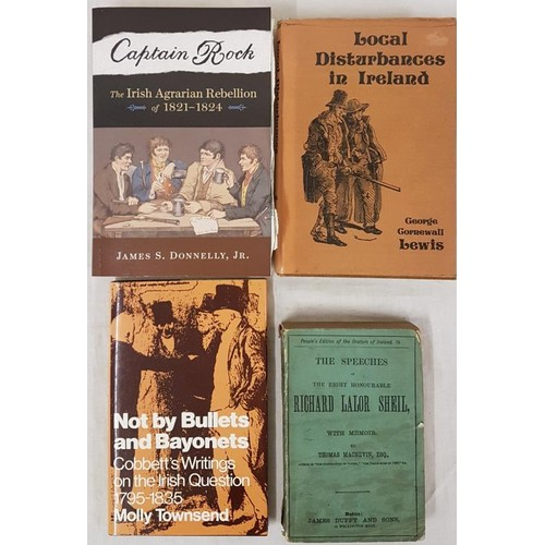 165 - Lewis. Local Disturbances in Ireland, fasc ed Tower Books 1977, dj, vg. Donnelly, Captain Rock, Iris...