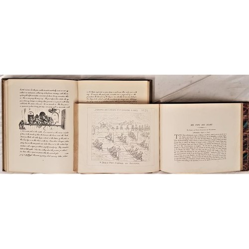 168 - Richard Doyle. A Journal Kept in the Year 1840,1885. 1st. Illustrated; and Richard Doyle Manners ...