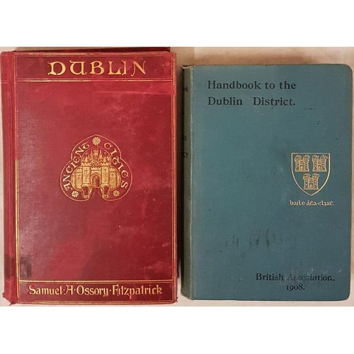 174 - Handbook of the City of Dublin and the Surrounding District. Prepared for Meeting of British Associa...
