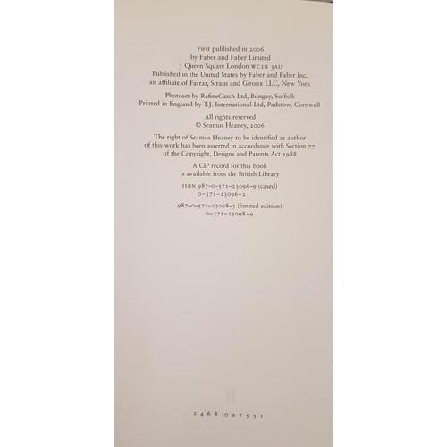 176 - Seamus Heaney District & Circle, 1st Edition, 2006, h/b, dj