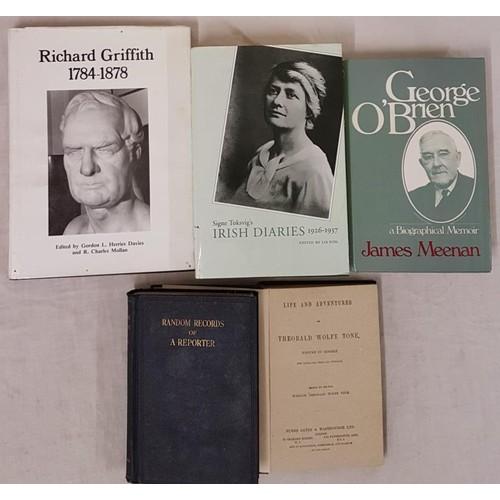 184 - Richard Griffith 1784 – 1878by Gordon Davies editor.1980. Surveyor of coalfields, author...
