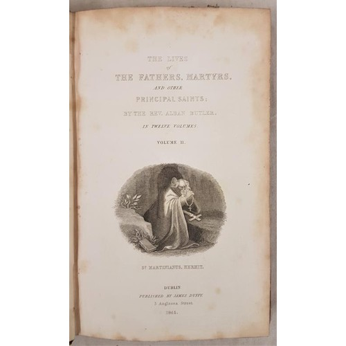 2 - Butler, Rev. Alban. The Lives of the Fathers, Martyrs and Other Principal Saints, compiled from orig...