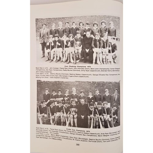 8 - GAA History of Clonmore, Killea, and Templemore 1884-1988 by Martin Bourke. 1988. Superbly detailed ...
