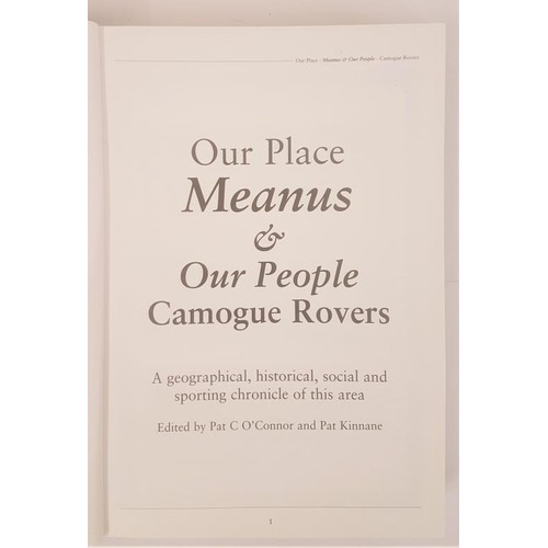 14 - Our Place Meanus [Limerick] & Our People. Camogue Rovers. a geographical, historical, social, sp...