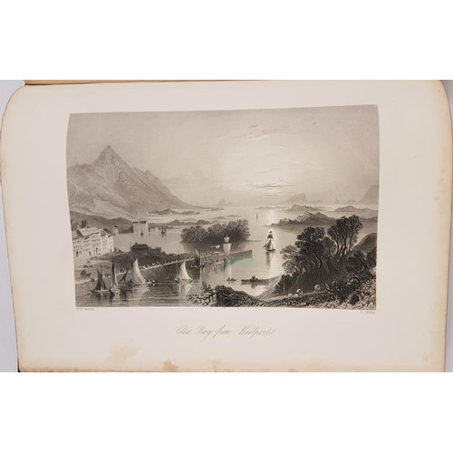 25 - Bartlett, William Henry. The Scenery and Antiquities of Ireland Volume I and Volume II, bound in one...