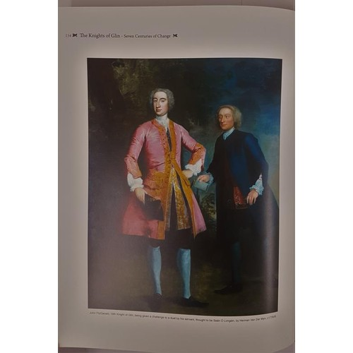 55 - The Knights of Glin: Seven Centuries of Change. Tom Donovan. Large format illustrated in dust wrappe...