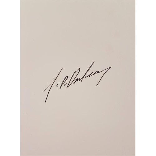 110 - JP Dunleavy, Leila, ltd first edition, privately printed and personally signed by J.P. Dunleavy; The...