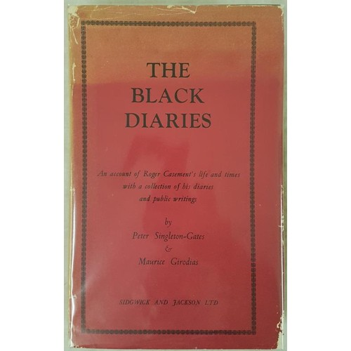 124 - Singleton-Gates & Gorodias The Black Diaries. An Account of Roger Casement's Life and Time...