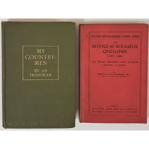 125 - An Irishman. My Countrymen. 1929. 1st; and Helena Concannon. The Defence of ...