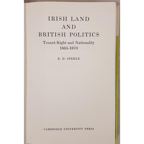 128 - Landlordism: Steele, E. D. Irish Land and British Politics. Tenant-Right and Natio...