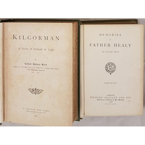 129 - T. B. Reed. Kilgorman – A Story of Ireland in 1798. 1902. 1st Fine original green pictorial cl...