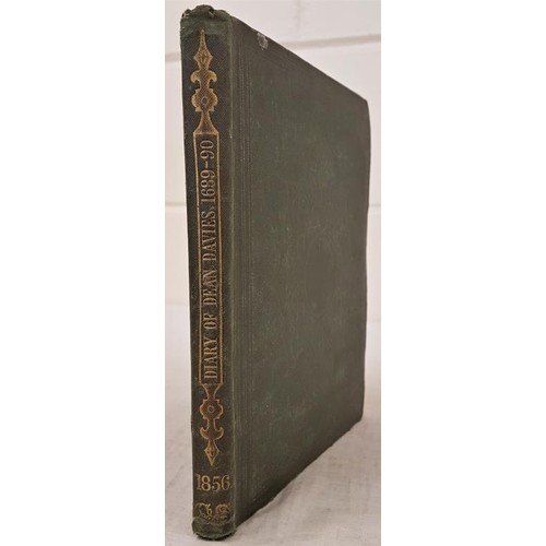 142 - Caulfield, Richard. Journal Of The Very Rev. Rowland Davies LLD, Dean of Ross from 1688-9 to Septemb...
