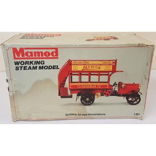 2 - Mamod Working Steam Model - General, LB1, in original packaging