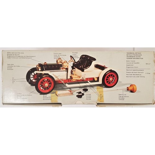 3 - Mamod Steam Roadster - complete in original packaging