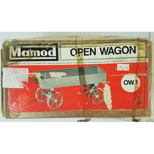 5 - Mamod Open Wagon - OW.1 - with original packaging