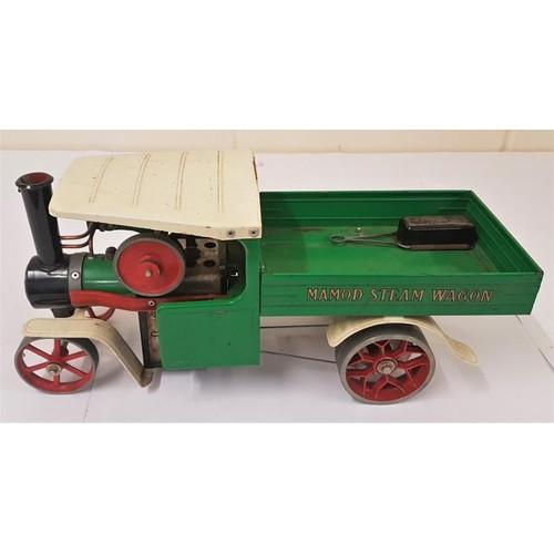 6 - Mamod Steam Wagon SW1