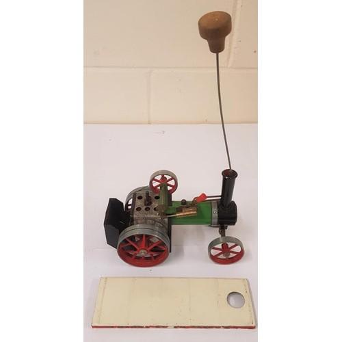 8 - Mamod Steam Engine TE1 - as found