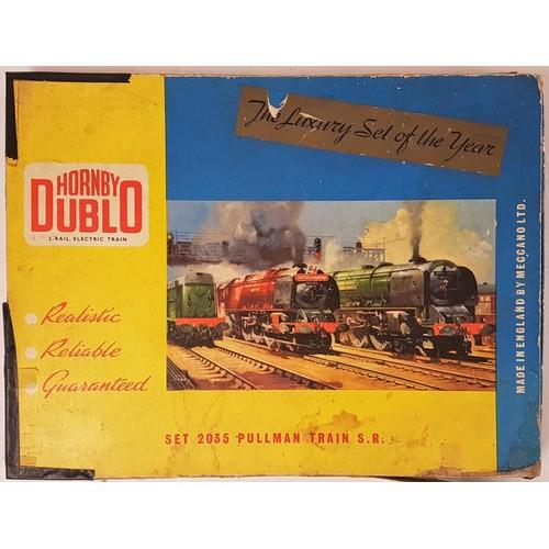 26 - Hornby Duplo 2 Rail Electric Train Set 2035 Pullman Train S.R. - boxed