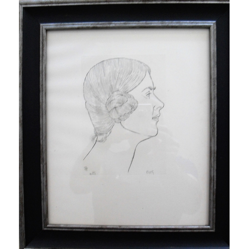 79 - Eric Gill, ELIZA GILL, wood engraving on paper, copy number 204 from an edition of 400, Reference: C...