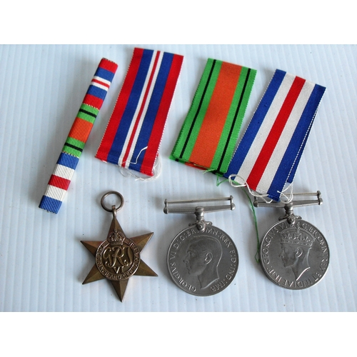 187 - Three WWII medal awarded to Armine Williams W.R.N.S., Shelvingstone, Sonning: The France and Germany...