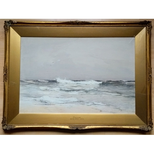 65 - David West RSW (Scottish 1868 - 1936), LOSSIEMOUTH,  watercolour, signed and titled bottom right,  5...