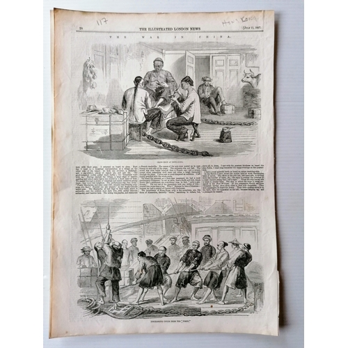 69 - A large selection Illustrated London News & The Graphic from 1845 to 1895, some facsimiles, relating...