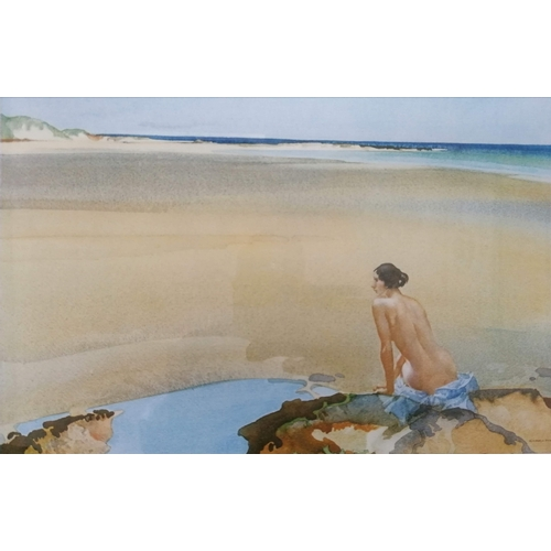35 - After William Russell Flint (Scottish 1880-1969), ARAMINTA, artist's proof collotype, 24 x 35 cm, fr...