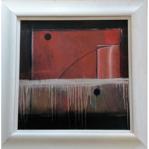 27 - Ashley Shaw (New Zealand/British, 20th Century), UNTITLED, oil on canvas, framed, 60 x 60 cm, signed...