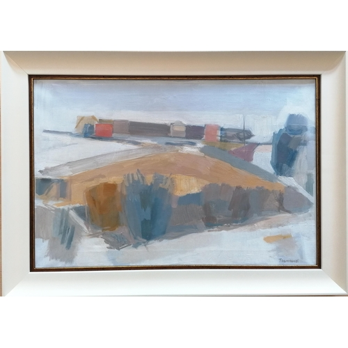 29 - William Townsend (British 1909-1973), UTOPIA, oil on canvas, framed, 52 x 76 cm signed bottom right....