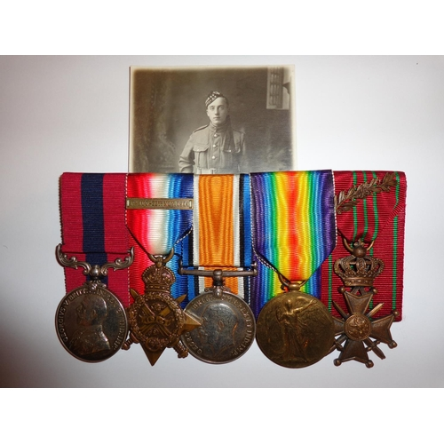 2 - Seaforth Highlanders Distinguished Conduct Medal Group - Awarded to 8773 Private Arthur Gray - of th...