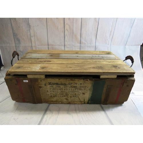 8A - A WWII era ammunition box...