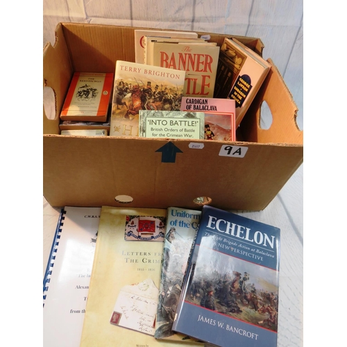 9A - A collection of books relating to the Crimean War...