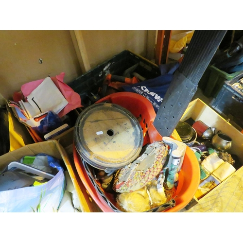 13 - A SHELF LOT - INCLUDING MIXED ITEMS...
