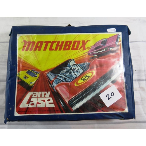 247 - DIE CAST AND MODEL VEHICLES - IN MATCHBOX CASE...