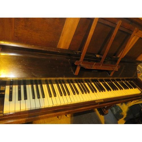 41 - A VINTAGE - PARLOUR PIANO...