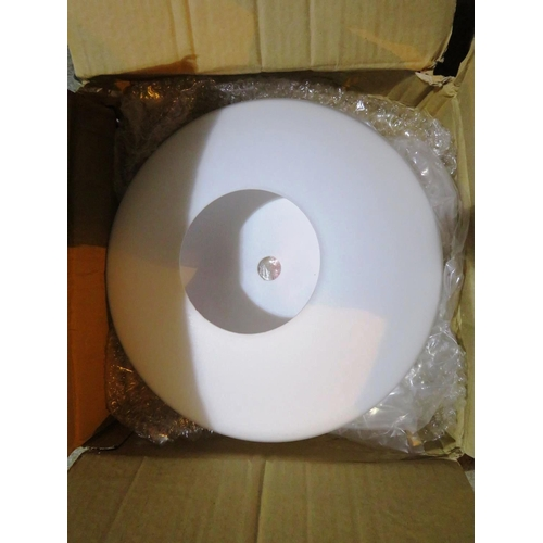 16 - FOUR CEILING DOME LIGHTS - AS NEW...