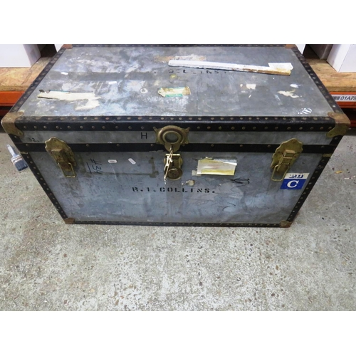 40 - TRAVEL TRUNK/CHEST...
