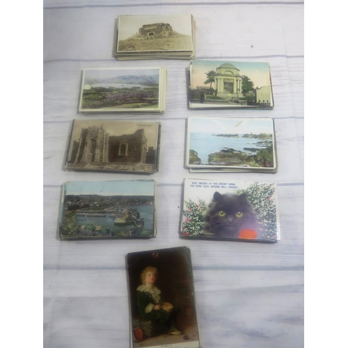525 - APPROXIMATELY 250 - EDWARDIAN POSTCARDS...