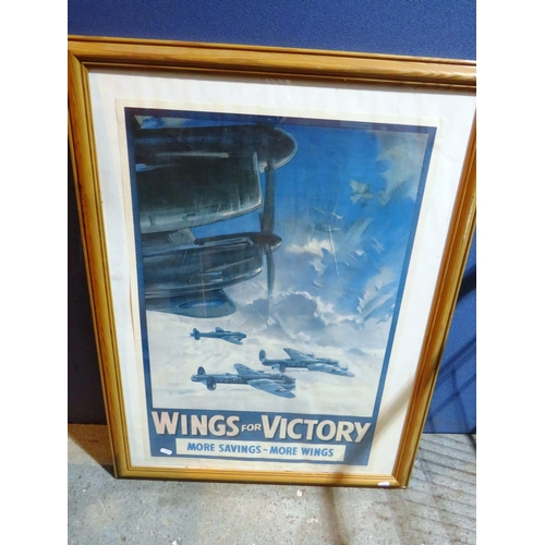 527 - WWII STYLE - AIRCRAFT PRINT...