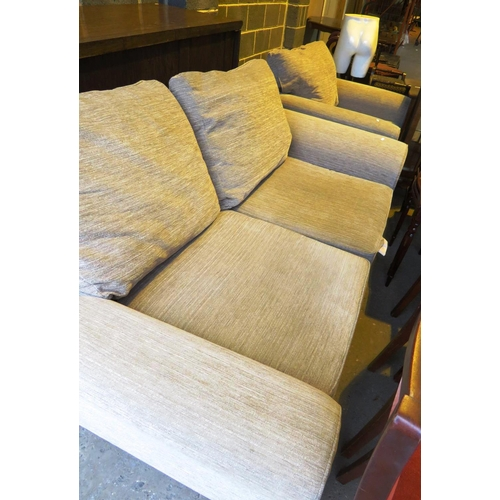 28 - NEXT - TWO SEATER SOFA AND CHAIRS...